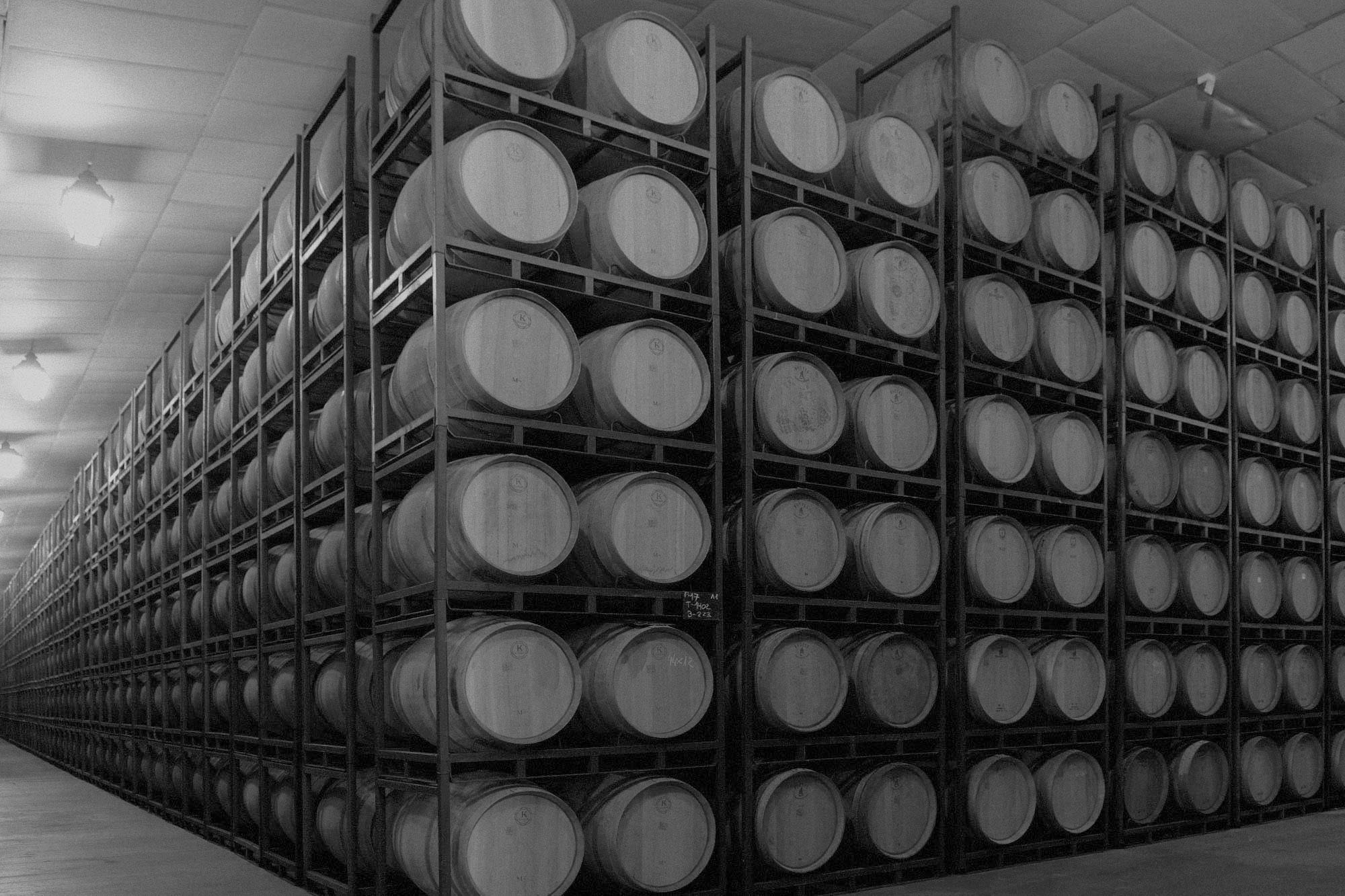 Barrel cellar